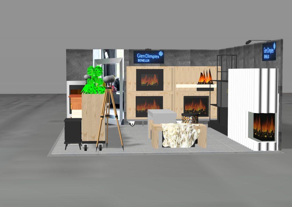 Glen Dimplex Kominki 2018 Wijbenga Standbouw-Standdesign-Standinrichting-Beurspresentatie1