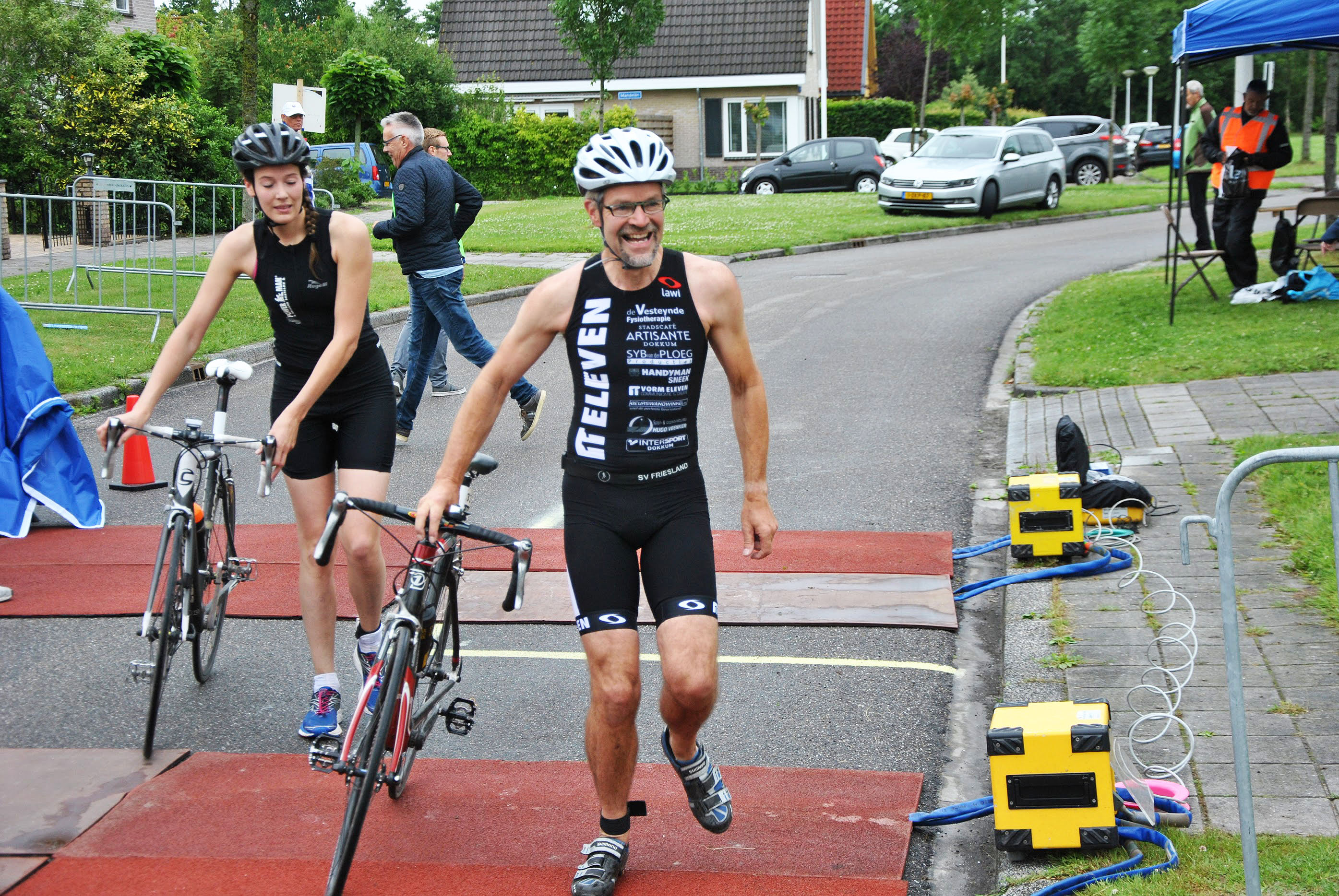 Lawi Triatlon Friesland Wijbenga Standbouw